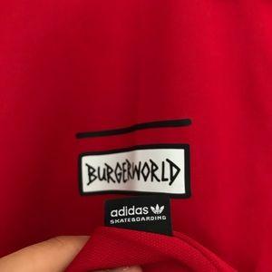 58fe5beb6 Adidas x Beavis   Butthead Red Polo Shirt Size XL